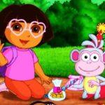 Dora Kids Puzzles Igrice Dora