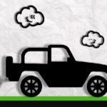 Paper Monster Truck Race