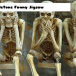 Skeletons Funny Jigsaw