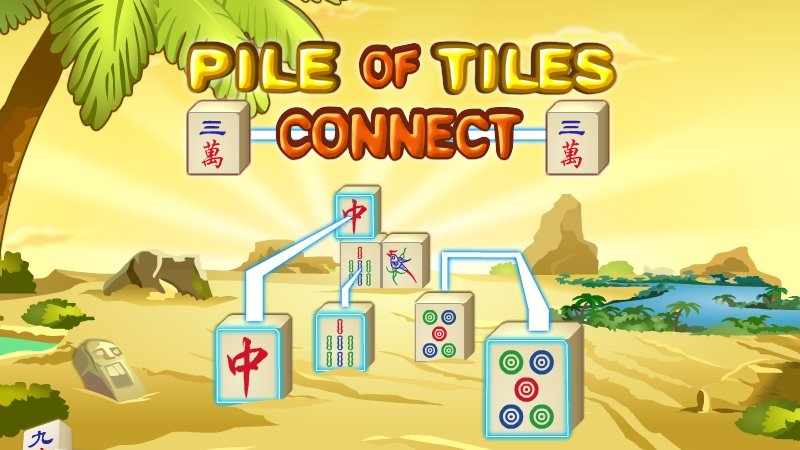 Image Pile of Tiles Connect